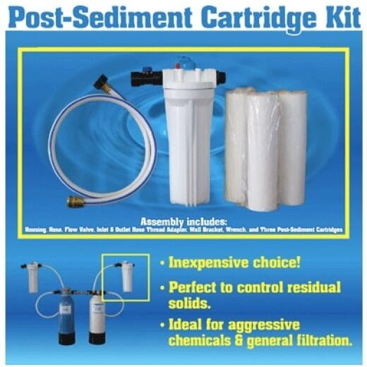 "Post-Sediment Cartridge Kit - 20"" x 2.5"""